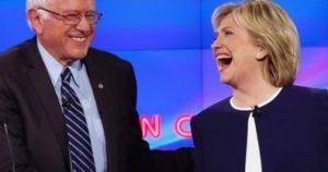 Bernie Sanders endorsed Hillary Clinton, the Democratic candidate in the race to defeat Donald Trump.