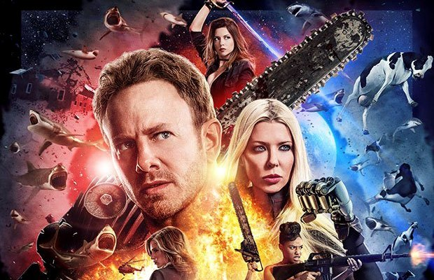 Sharknado the 4th Awakens is out. Here are the Sharknado 4 Reviews.