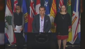 "WATCH: Gay Muslim Man Opposes M-103 ""Islamophobia"" Motion At Press Conference"