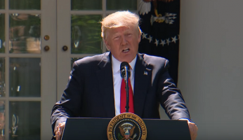 Trump Withdraws America From Paris Climate Accord