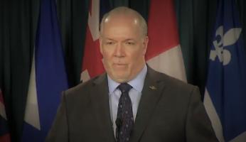 Horgan Pipeline Meeting Trudeau