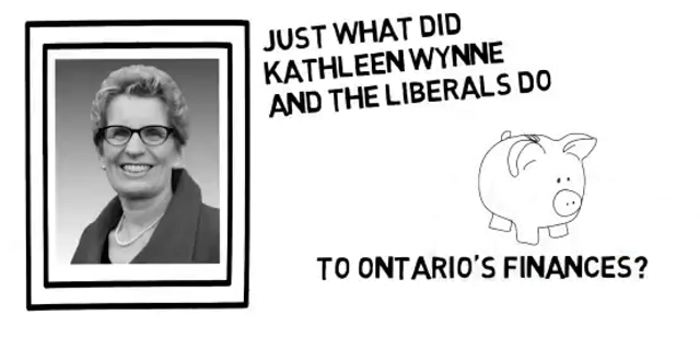 Kathleen Wynne Cooked The Books